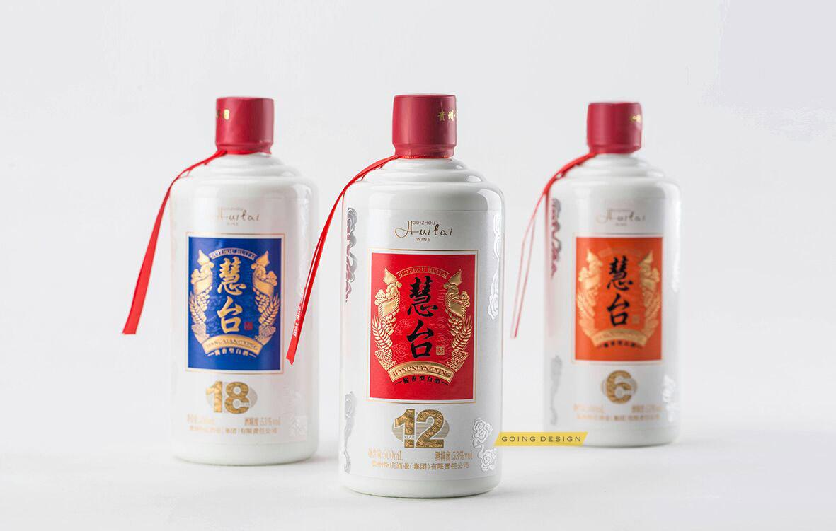 怀庄酒业慧台白酒包装设计